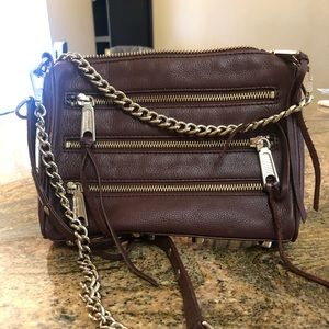 Dark Brown Rebecca Minkoff Crossbody bag